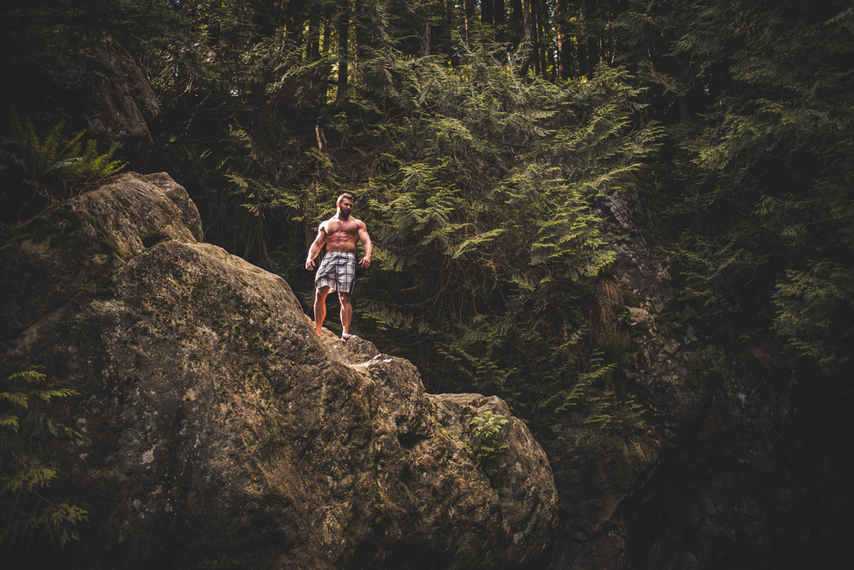 Lynn Canyon Cliff Jumping